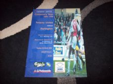 Torquay United v Darlington, 1999/2000